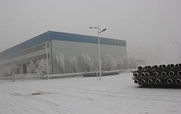 冬季厂区外景