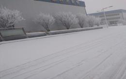 亚塑甬道雪景